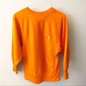 {Champion} Vintage Orange Sweater